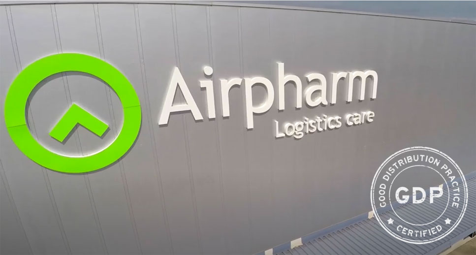 airpharm certificado GDP
